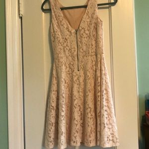 Speechless Dresses - Speechless (Macy's)- Blush colored lacy dress